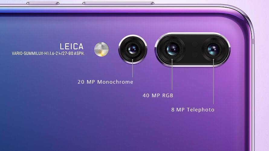 huawei p20 pro triple camera leica
