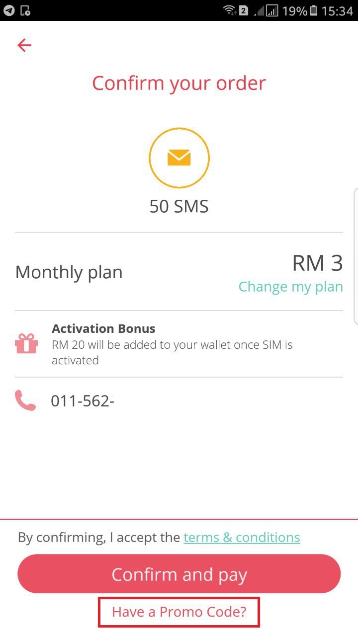 yoodo 20gb data sim card