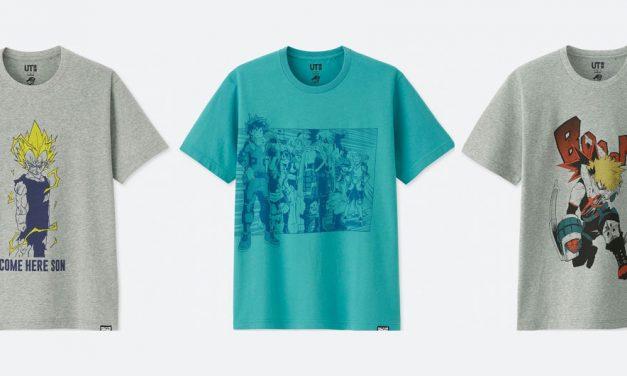 T-Shirt Uniqlo X Shonen Jump Terbaru – Menampilkan Design Vegeta, My Hero Academia, Whitebeard dan Zeff Berkaki Merah