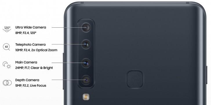 Samsung Galaxy A9 (2018) dan Galaxy A7 (2018) – Telefon Pintar dengan 4 Kamera dan 3 Kamera Belakang