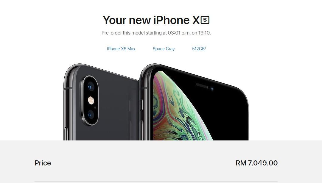 harga iphone xs max malaysia