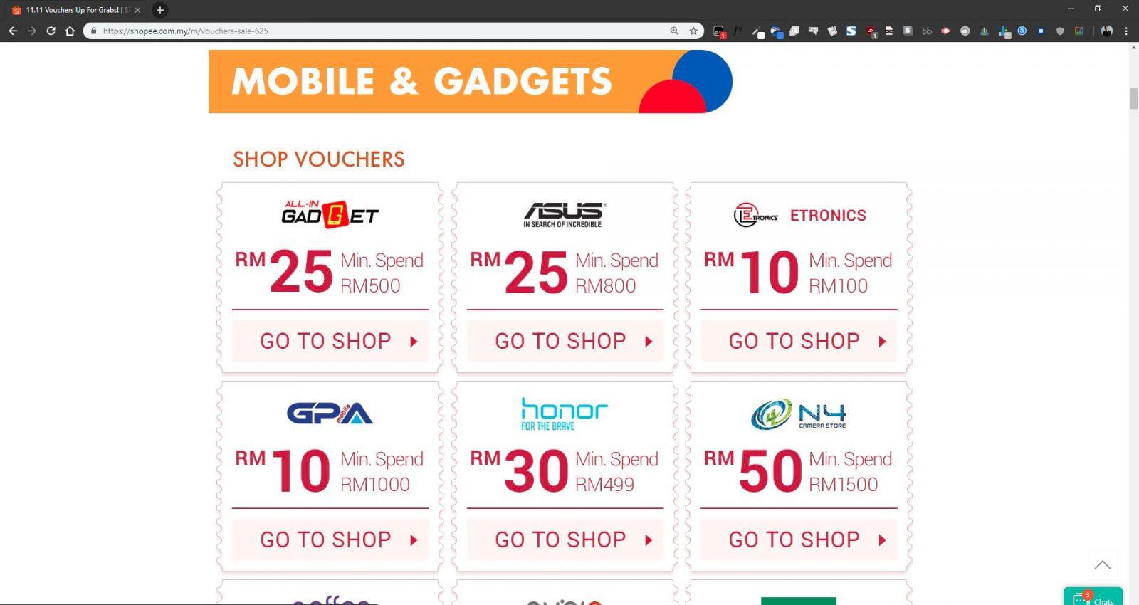 shopee 1111 voucher malaysia