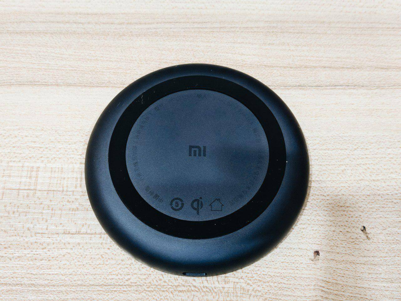 xiaomi 10w wireless charger bottom view
