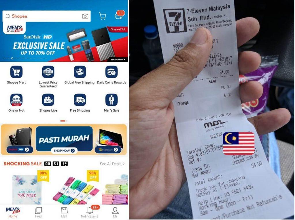 Cara Beli Barang Di Shopee Malaysia Dan Bayar Di Kedai 7-Eleven