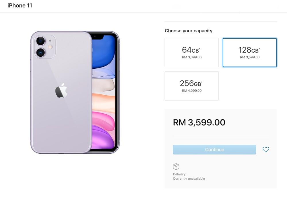 harga iphone 11 malaysia