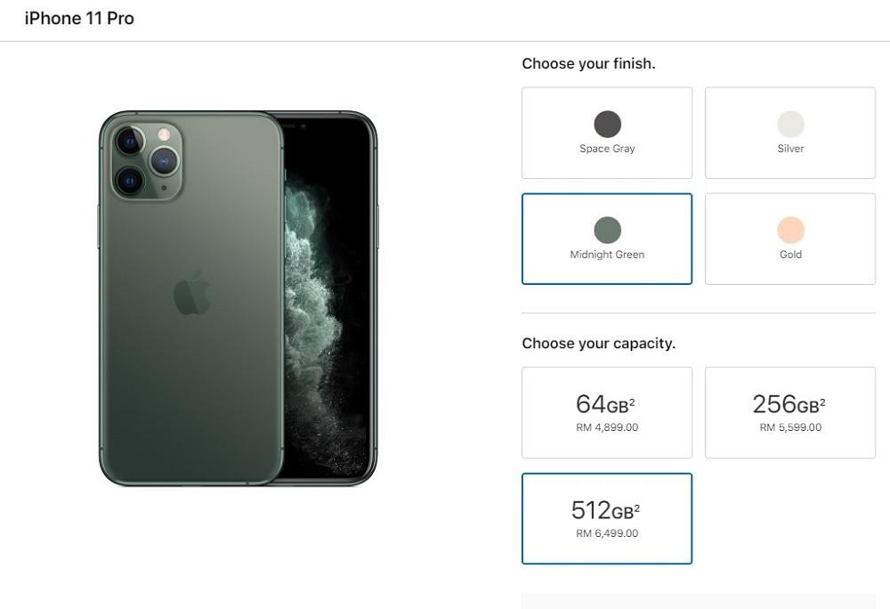 harga iphone 11 pro malaysia