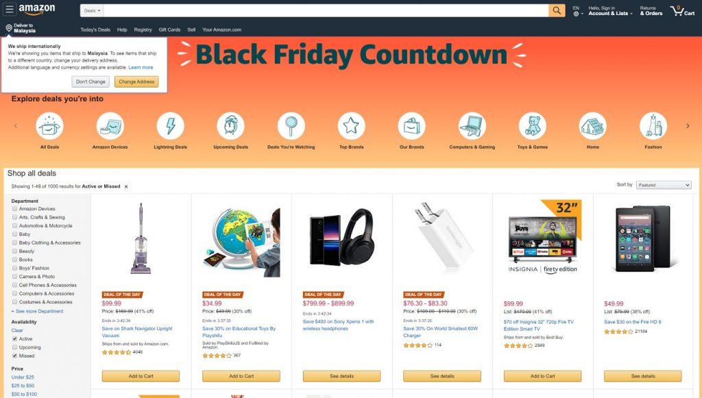 Cara Beli Barang di Amazon.com Dan Pos Ke Malaysia