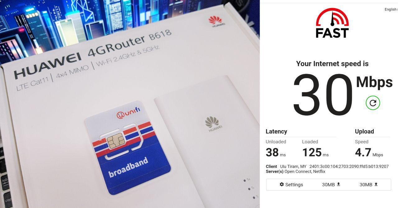Unifi Air Review - Wireless Broadband Dengan Unlimited Data Plan Termurah di Malaysia