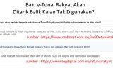 Baki e-Tunai Rakyat Dalam e-Wallet Akan Ditarik Balik Jika Tak Guna Selepas 14 Mac 2020?