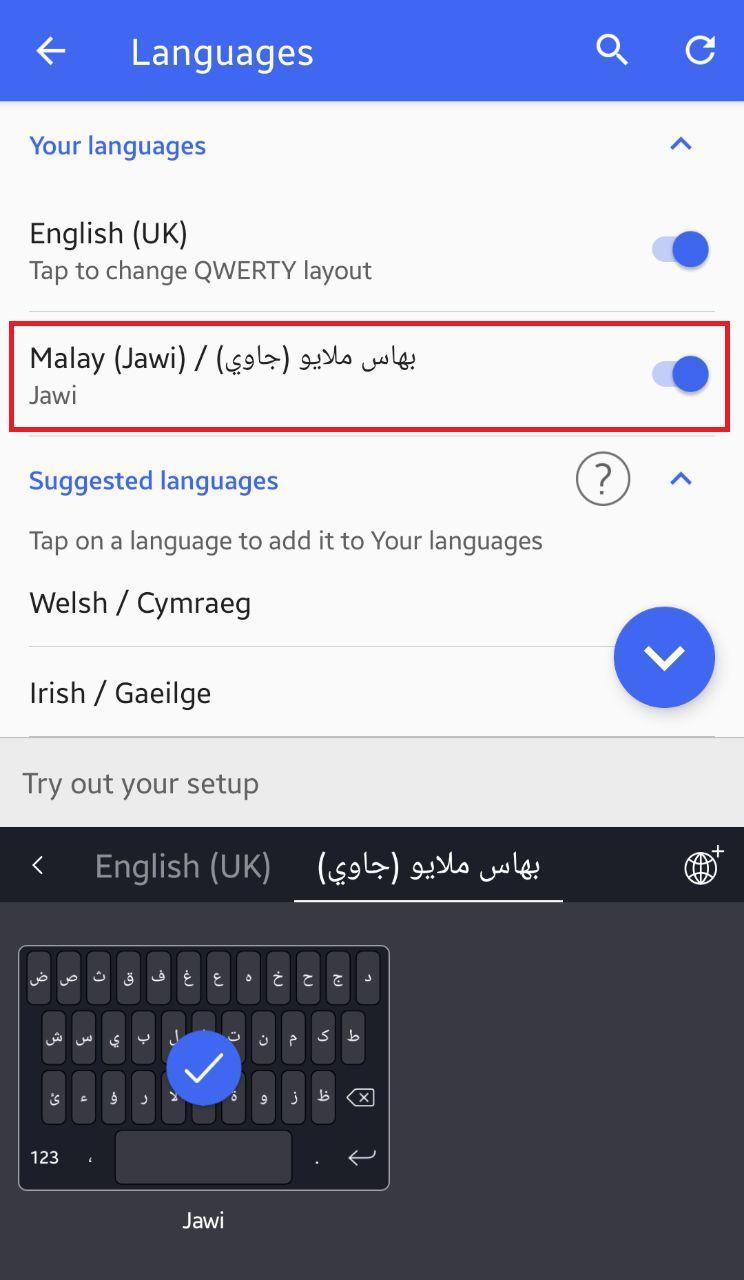 keyboard jawi android swiftkey huawei