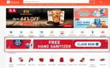 shopee free hand sanitizer
