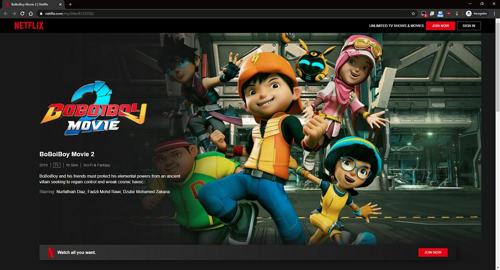 download boboiboy movie 2 netflix