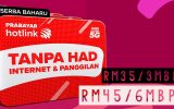 hotlink prepaid unlimited data call rm35