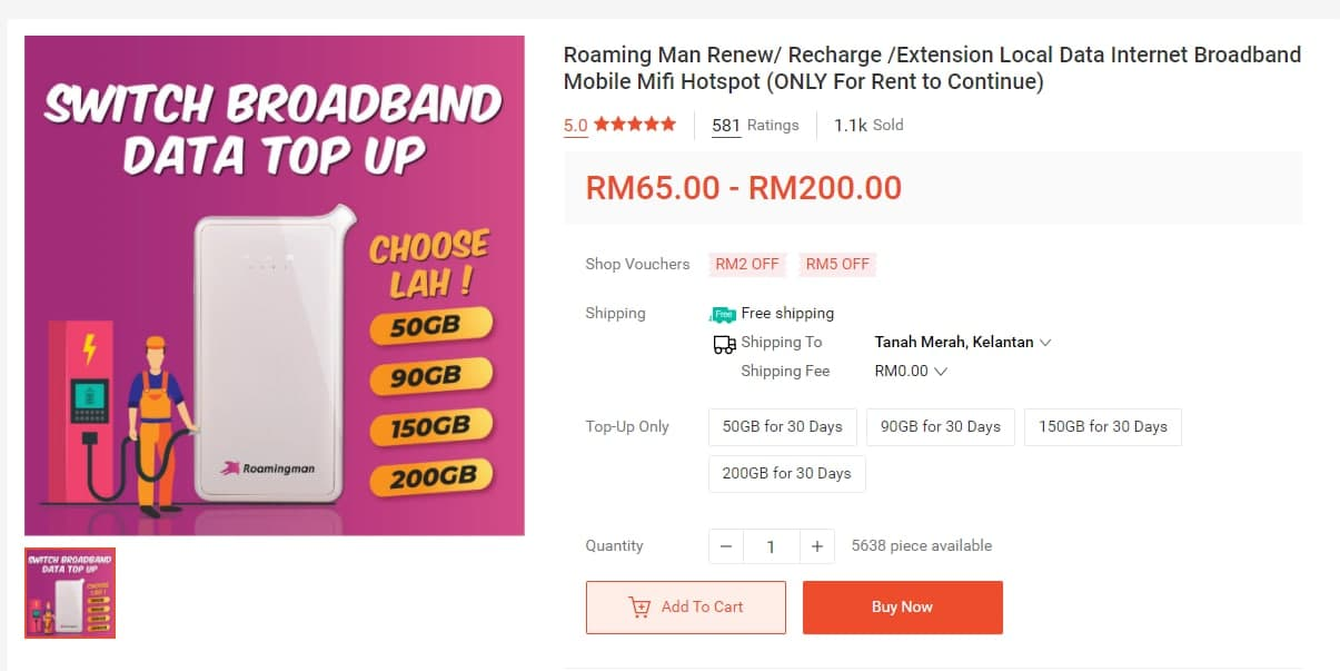 roamingman data renew