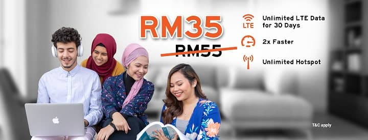 unifi mobile bebas unlimited data plan rm35